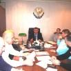 Заседание уполномоченных Представительства РД в СПб Выступает Гасан Гасанов.JPG